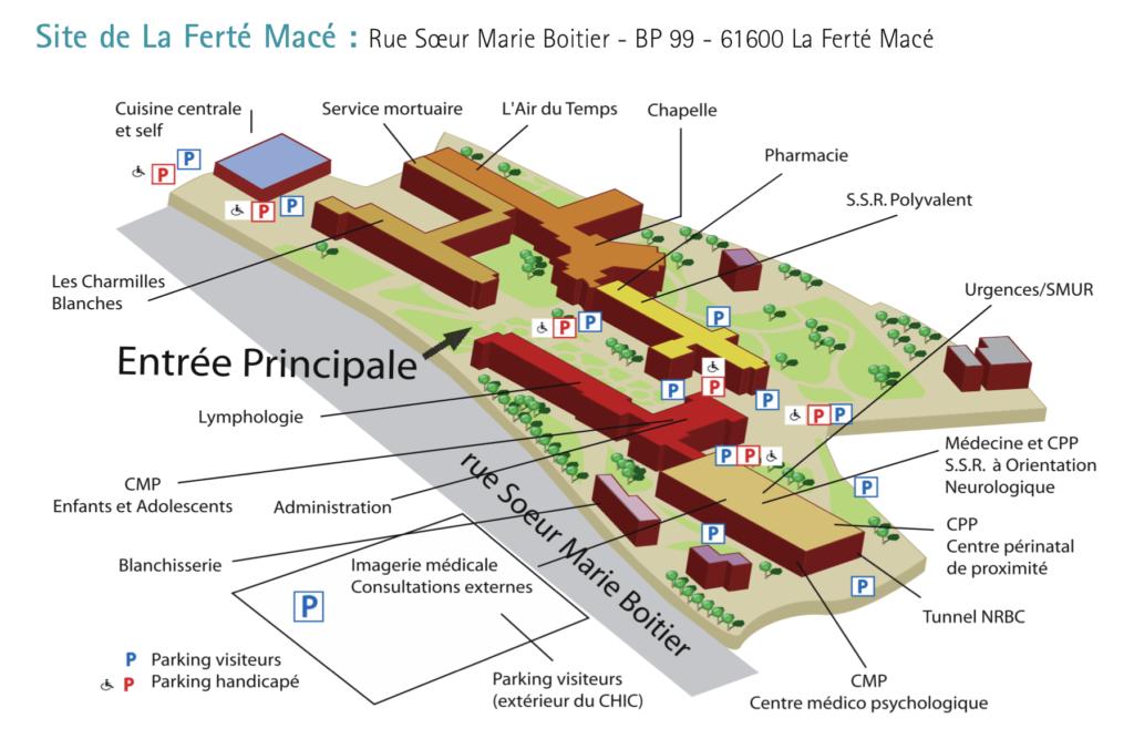 Site de la Ferté Macé